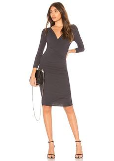 James Perse Skinny Wrap Dress