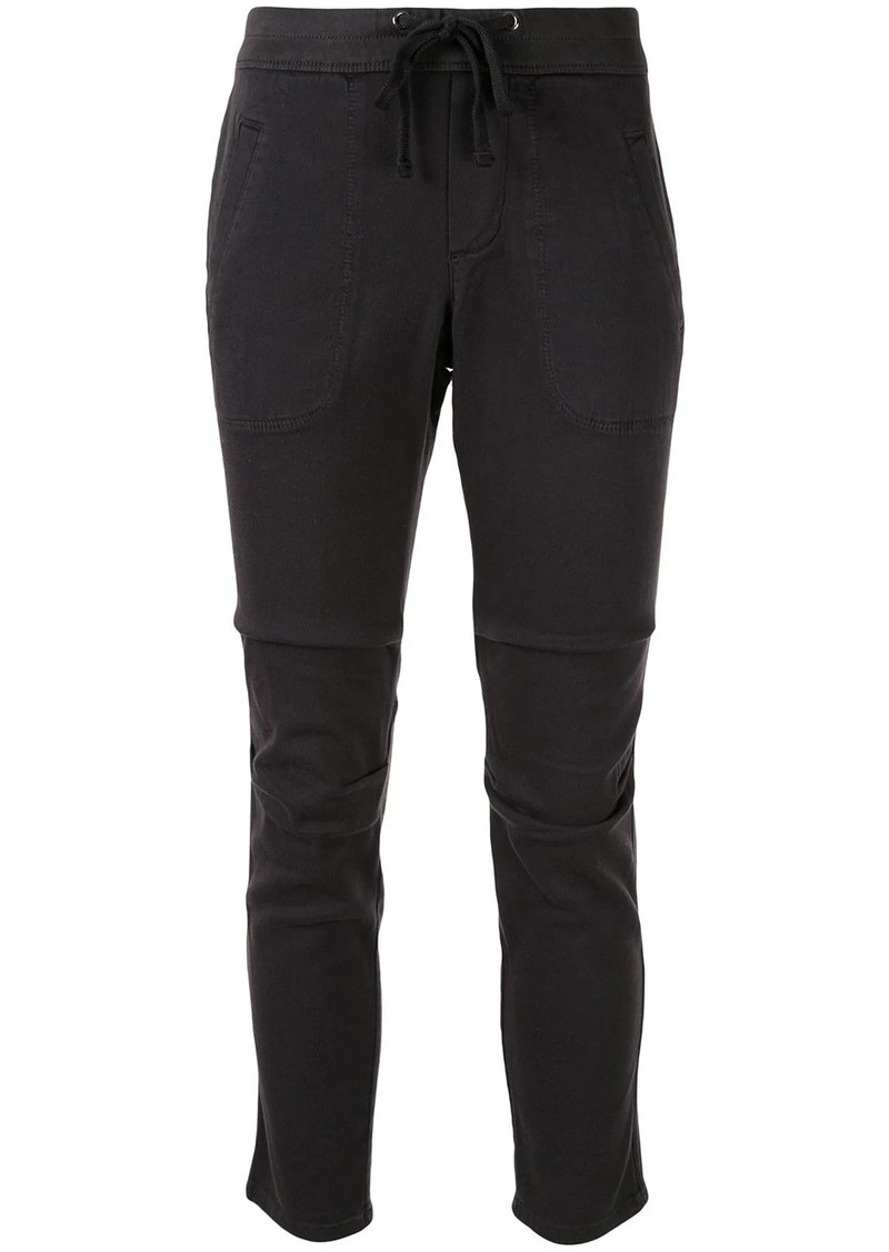 James Perse slim cropped trousers