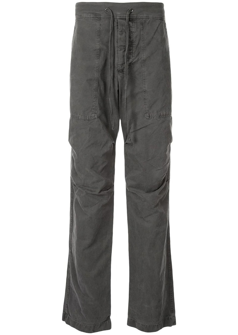 James Perse straight-leg cargo trousers
