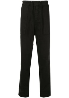 James Perse straight-leg drawstring trousers