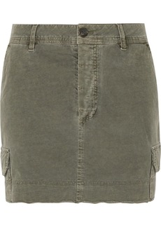 James Perse Stretch-cotton Mini Skirt