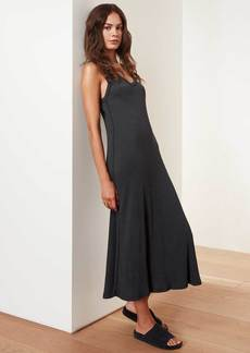 James Perse Rib Cami Dress - Blue Black
