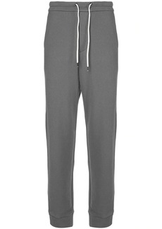 James Perse Terry plain track trousers