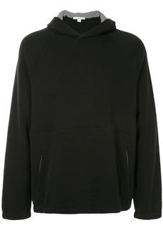 James Perse Terry seamed hoodie