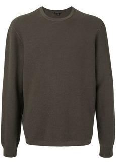 James Perse textured knit jumper