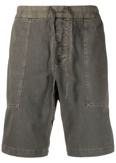 James Perse Utility cotton track shorts