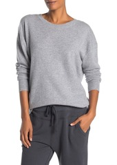 James Perse V-Back Cashmere Sweater
