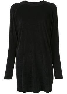 James Perse velvet sweatshirt dress