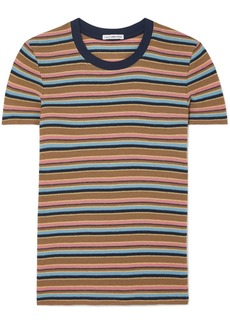 James Perse Vintage Boy Striped Cotton-blend Jersey T-shirt