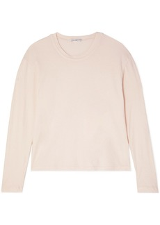 James Perse Vintage Cotton-jersey Top