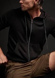 James Perse Vintage Fleece Hoodie - Black