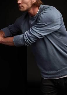 James Perse Vintage Fleece Sweatshirt - Danube Pigment