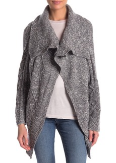James Perse Wool Cable Cardigan