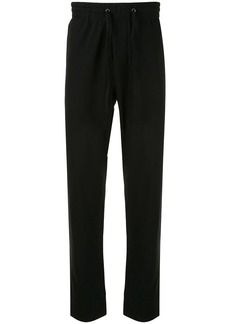 James Perse Y/osemite heavy jersey taped sweatpants