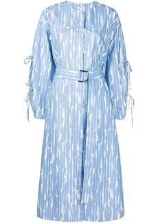 Jason Wu abstract-print cotton dress