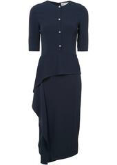 Jason Wu asymmetric buttoned dress