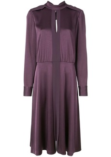 Jason Wu band collar midi dress