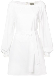 Jason Wu belted shift mini dress
