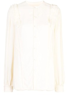 Jason Wu blouse with textured trim