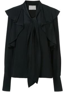 Jason Wu bow tie ruffle blouse