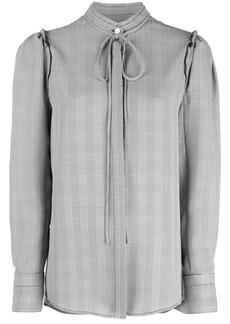Jason Wu checked blouse