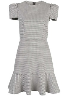 Jason Wu checked flared dress