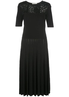 Jason Wu contrast-panel midi dress