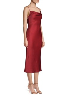 Jason Wu Crepe Back Silk Bias Cut Slip Dress