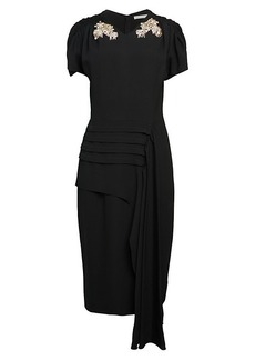 Jason Wu Crepe Sheath Dress