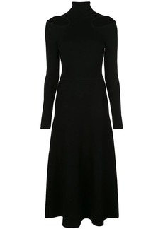 Jason Wu cut-out detail midi dress