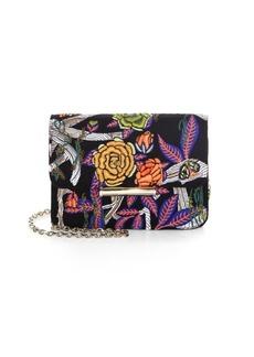 Jason Wu Diane Floral Leather Wallet Shoulder Bag