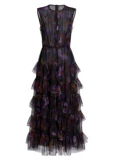 Jason Wu Dream Floral Print Tulle Dress