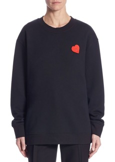 Jason Wu Emoji Cotton Sweatshirt