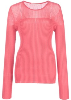 Jason Wu fitted ribbed jumper