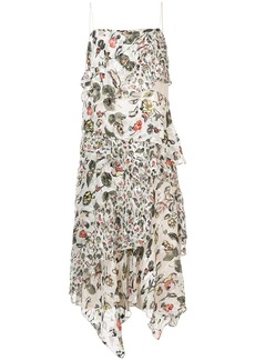 Jason Wu flared floral midi dress