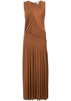 Jason Wu flared pleated midi dress