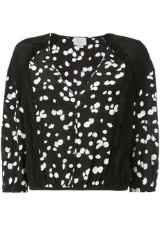 Jason Wu floral cropped blouse