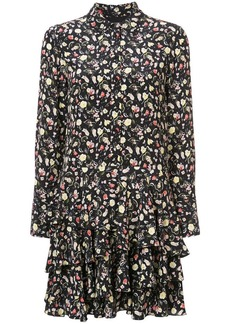 Jason Wu floral flared dress