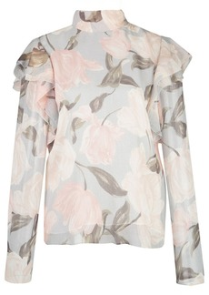 Jason Wu floral frill blouse