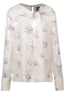 Jason Wu floral knot blouse