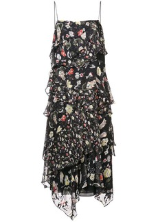 Jason Wu floral midi dress