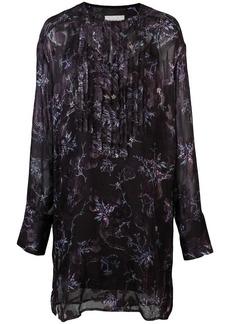 Jason Wu floral panelled dress