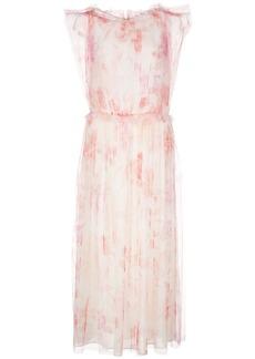 Jason Wu floral-print flared dress