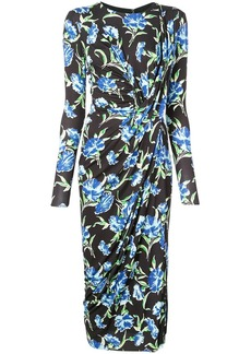 Jason Wu floral print midi dress