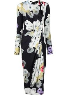 Jason Wu floral-print midi dress