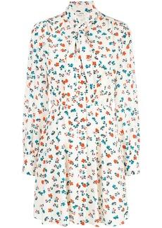 Jason Wu floral print shirt mini dress