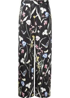 Jason Wu floral-print silk trousers