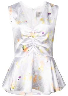 Jason Wu floral sleeveless blouse