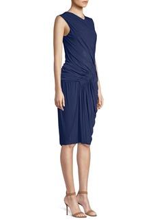 Jason Wu Fluid Jersey Sleeveless Sheath Dress