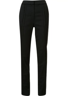 Jason Wu frayed panelled tailored trousers